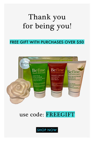 FREE GIFT when you spend $50
