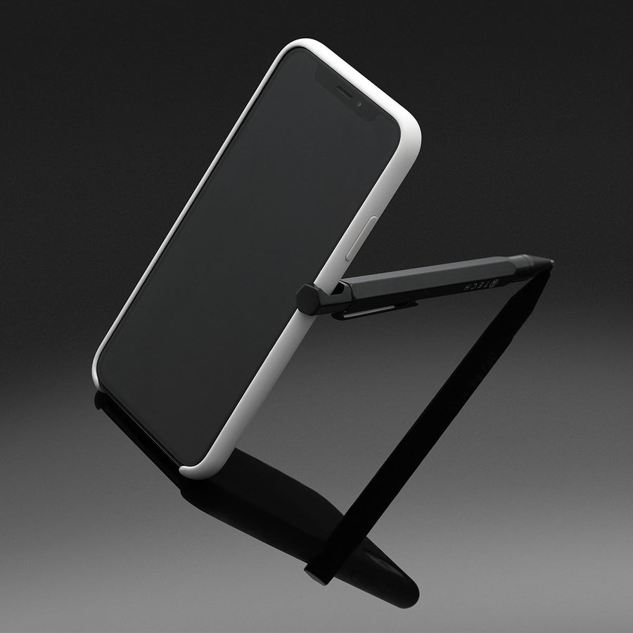 Multitool Pencil 4-in-1 Phone Stand - Black - ATECH