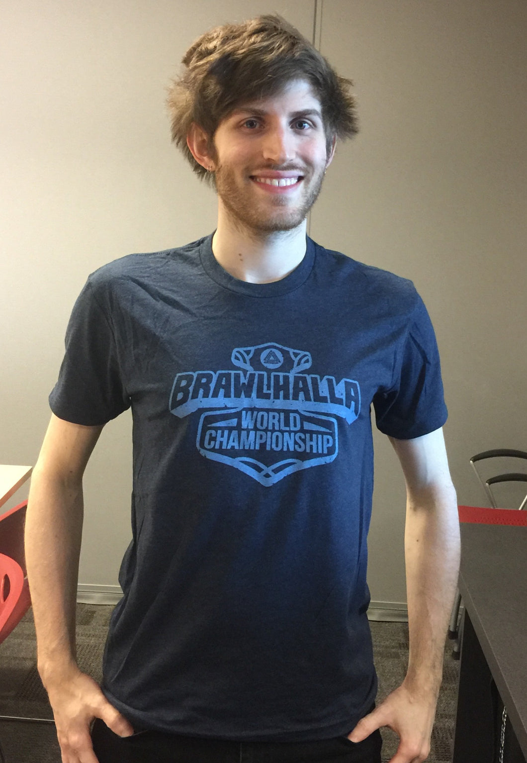 Official 2016 Brawlhalla World Championship T-Shirt