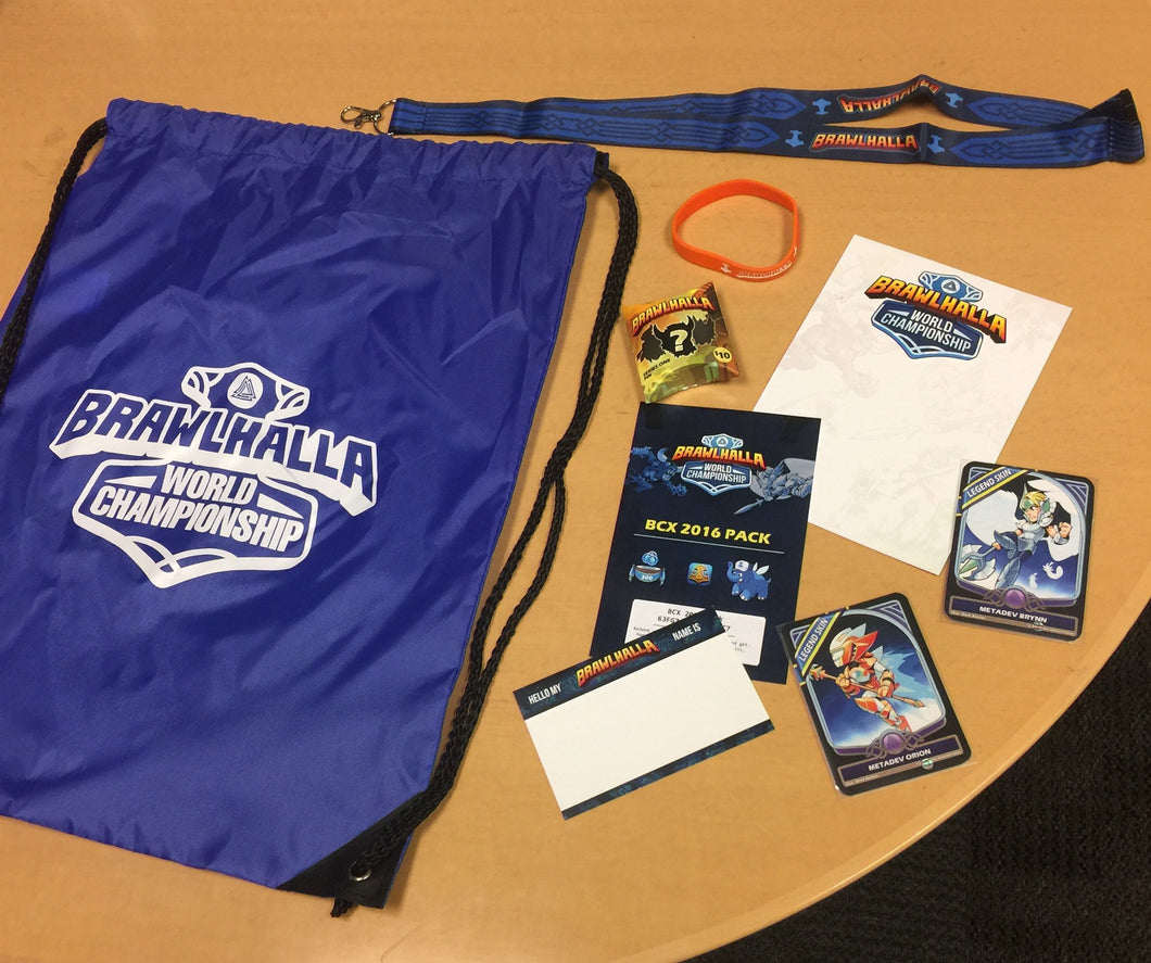 Official 2016 BCX Swag Bag