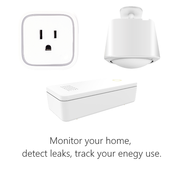 Oomi Monitoring Bundle - Monitor your home, detect leaks, track energy use.