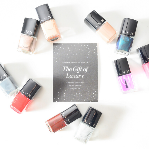 Holiday Gift: 3in1 & NARCISSIST - LVX Luxury Nail Polish