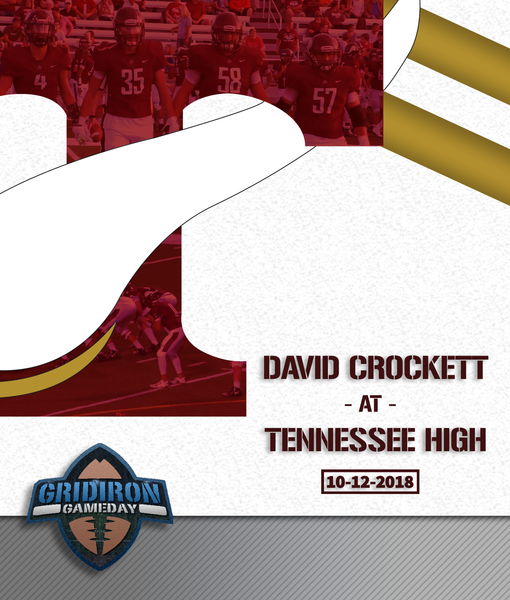 David Crockett at Tennessee High School 2018 PREORDER