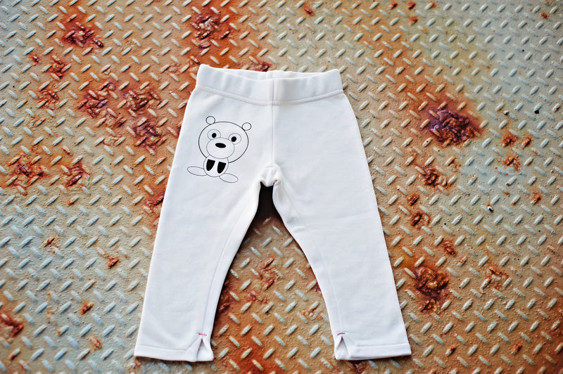 Doggy Straight Leg Fleece Pant