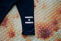 Ming x Ming Straight Leg Fleece Pant