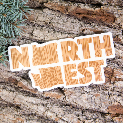 Northwest Sticker - Left Coast Life