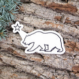 Cali Bear Sticker - Left Coast Life