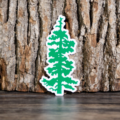 Oregon Tree Magnet - Left Coast Life