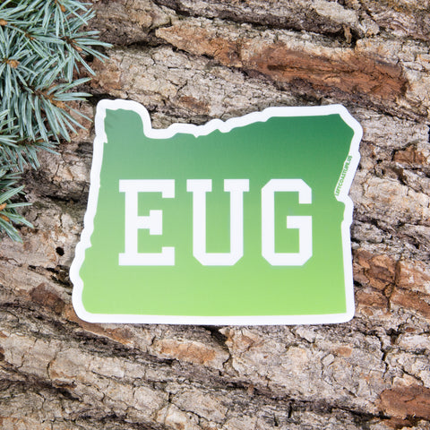Eugene Sticker - Left Coast Life