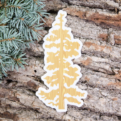 Oregon Tree Sticker Decal - Left Coast Life