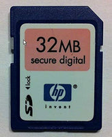 HP 32MB SD Security Digigtal Memory Card