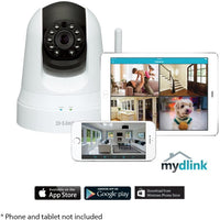 D-Link DCS-5020L Wireless Network VGA Day & Night Pan / Tilt Camera (Factory Refurb)