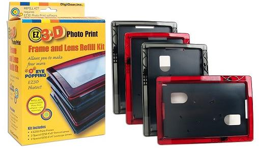 EZ3D Frame and Lens Refill Kit