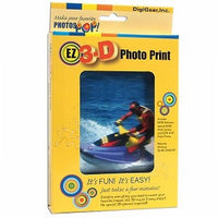EZ3D Photo Print Lenticular Software Turn 2D into 3D DIY Kit