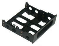 Black Mounting Kit - 3.5 to 5.25 Inch Drive Bay for PCD-TP220CS or PCE10