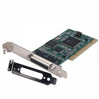 Quatech 4 port RS-232 to DB-9, low profile, Universal PCI serial board QSCLP-100