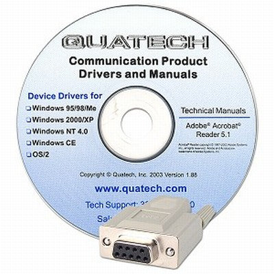Quatech 4 port RS-232 to DB-9, low profile, Universal PCI serial