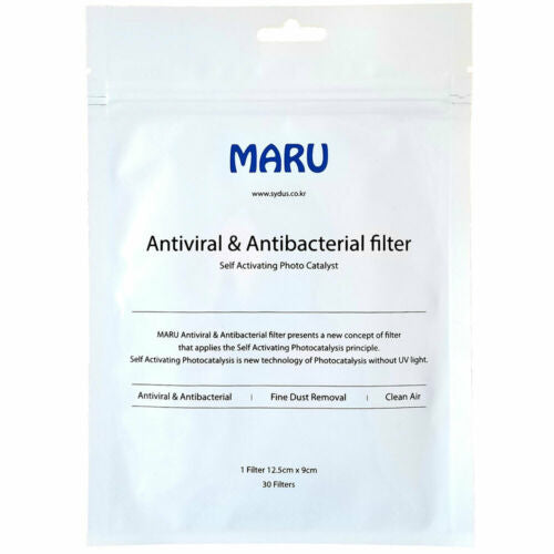 Maru Face Mask Filter 30 Sheets Korea