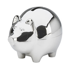 Large Polished Piggy Bank