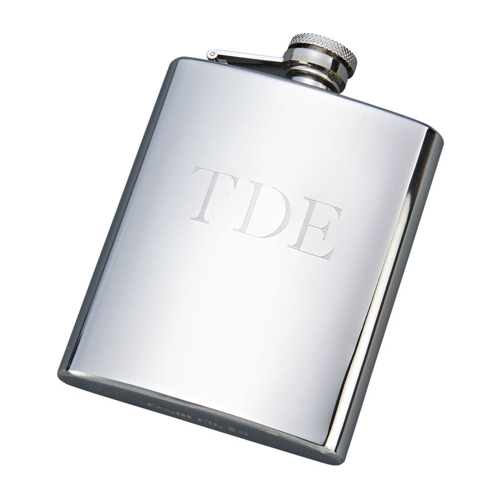 Polished Stainless Steel Flask