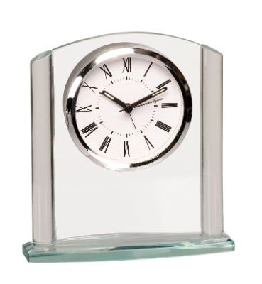 Arched Crystal Clock