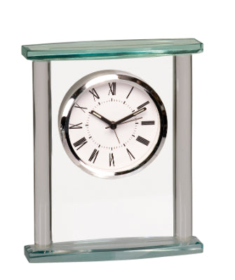 Squared Crystal Clock with Top