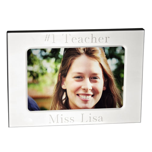 3.5x5 Polished Metal Frame