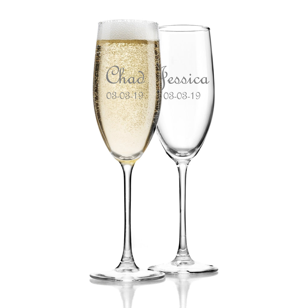 Personalized Toasting Set (Set of 2)
