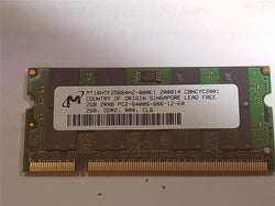 Apple Certified 2GB DDR2 PC2-6400S 800mHz MT16HTF25664HZ-800E1 iMac MB413G/A