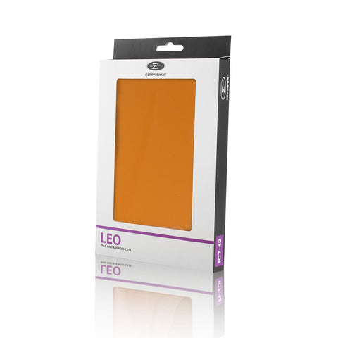 "New Pred8tor LEO 7"" Orange Universal iPad, Android/Samsung Galaxy Tab & Tablet Case/Cover"
