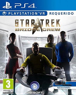 New Sealed Star Trek Bridge Crew Space Adventure  PS4 Virtual Reality Game VR
