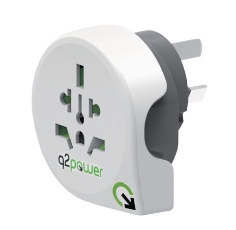 Travel Adapter World-to-Australia Earthed