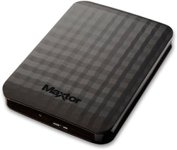 "MAXTOR M3 External 2.5"" inch 1TB Portable Backup Hard Disk Drive (Black) for PC/Laptop/Macbook/iMac"
