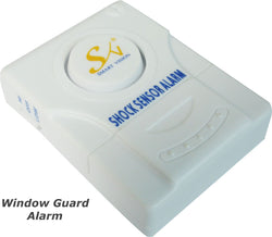 Shock Sensor Alarm - 2N2 Garage Shed Door/Window Shock Sensor Burglar Alarm 2N2