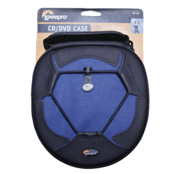 New LowePro Navy AP24 CD/DVD Wallet 24 Disc Carry Case