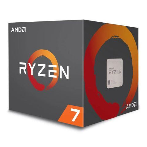 AMD Ryzen 7 1700 CPU with Wraith Cooler, AM4, 3.0GHz (3.7 Turbo), 8-Core, 65W, 20MB Cache, 14nm, RGB Lighting, No Graphics