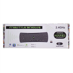 Sumvision Freestyle AirMouse  Wireless Keyboard, Air Mouse for Cyclone Nano, X4, X8 Android TV Set Up Box PC/Smart TV