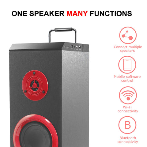 PSYC TORRE WX Wifi/BT Mini Tower Speaker Bluetooth Streaming App