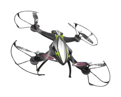 Jamara R/C Drone F1X 4+7 Channel RTF / Photo / Video / Gyro Inside / With Lights / 360 Flip / FPV 2.4 GHz Control Black