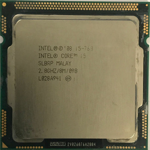 "Intel Quad-Core i5-750 2.66gHz SLBLC Processor Socket H LGA1156 iMac 27"" A1312"