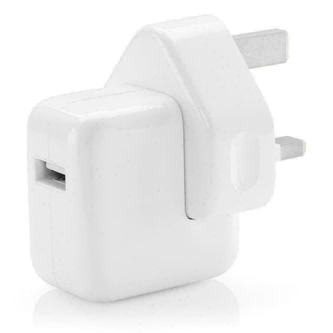 Genuine Apple 12W iPad/iPhone/Mini USB UK/EU Wall Plug Rapid Fast Charger A1401