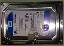 "Apple WD5000AAKS-402AA0 Hard Disk Drive 500GB 3.5"" SATA iMac A1311/A1312 HDD 655-1566C"