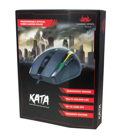New Sealed Sumvision KATA LED Wired Programmable Mouse