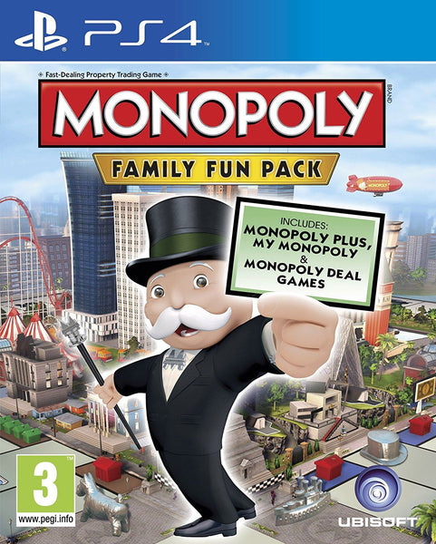 Hasbro Monopoly Family Fun Pack Video Game for PS4