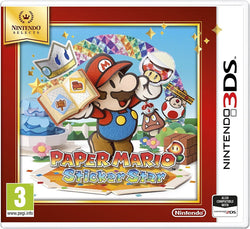Nintendo 3DS PAPER MARIO STICKER STAR SELECT Super Mario Adventure Video Game (2DS/3DS)
