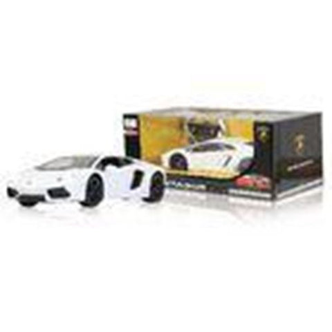 Jamara R/C Car Lamborghini Aventador RTR / With Lights 1:14 White Toy