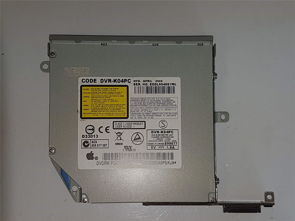 "Apple iMac G5 20"" Pioneer DVR-K04PC 678-0493C Internal CD/DVDRW Optical Drive Re"