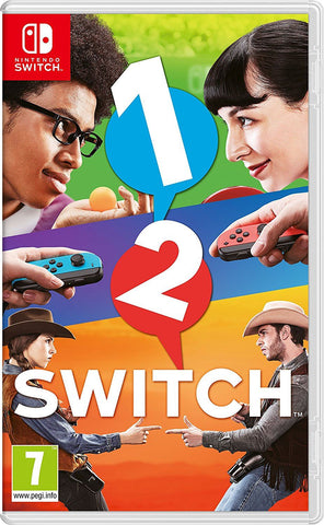 1-2-Switch (Nintendo Switch) New Sealed Party Game Single/Multiplayer (2 Player)