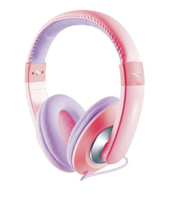Turst Sonin Kids Stereo Headphones Wired Pink