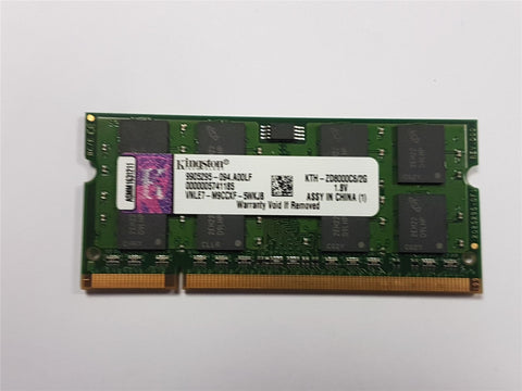 Kingston KTH-ZD800C6/2G 2GB DDR2 800mhz PC2-6400 RAM Memory Module Apple Mac